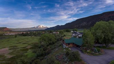 Glenwood Springs Single Family Home For Sale: 2070 Co Rd 109