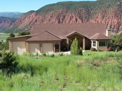 Glenwood Springs Single Family Home For Sale: 1199 Huebinger Drive