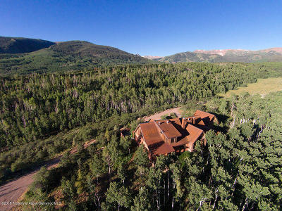 Aspen, Snowmass Single Family Home For Sale: 8201 Capitol Creek Road