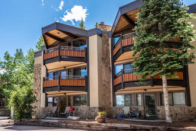 Snowmass Condo/Townhouse For Sale: 640 Carriage Way #102