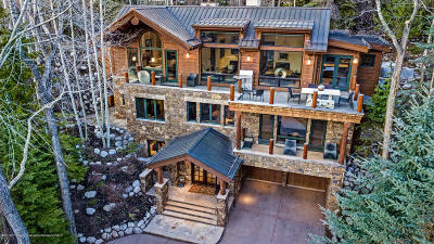Aspen, Snowmass Single Family Home For Sale: 735 E Francis Street
