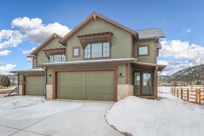 Carbondale Condo/Townhouse For Sale: 3700 Crystal Bridge Drive