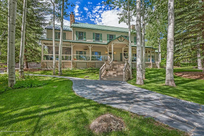 Glenwood Springs Single Family Home For Sale: 5015 County Road 117