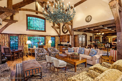 Snowmass Single Family Home For Sale: 23 Blue Spruce Lane