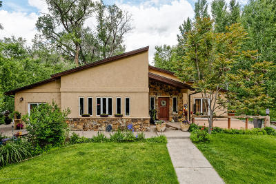 Glenwood Springs Single Family Home For Sale: 45705 Highway 6 & 24