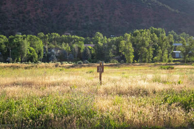 Glenwood Springs Residential Lots & Land For Sale: 1700 River Bend Way