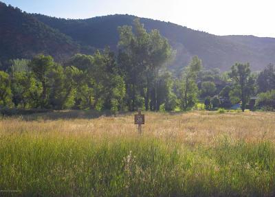Glenwood Springs Residential Lots & Land For Sale: 1486 River Bend Way