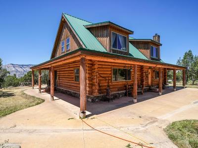 Battlement Mesa, Parachute Farm & Ranch For Sale: 2277 Housetop Mountain Road
