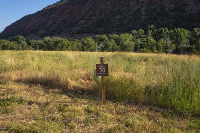 Glenwood Springs Residential Lots & Land For Sale: 1820 River Bend Way