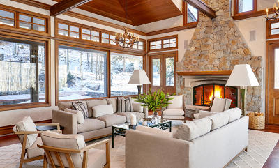 Snowmass Single Family Home For Sale: 1061 Wood Road