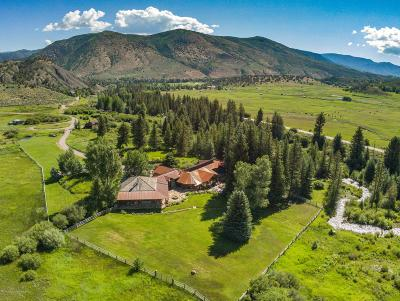 Snowmass Single Family Home For Sale: 7039 E Sopris Creek Road