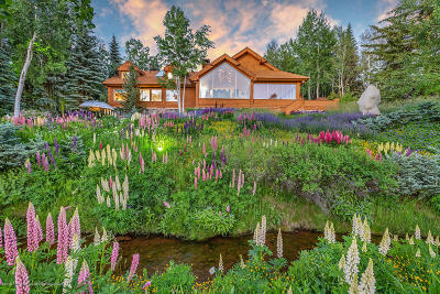 Aspen CO Single Family Home For Sale: $16,900,000