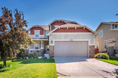 New Castle Single Family Home For Sale: 44 Kit Carson Peak Court
