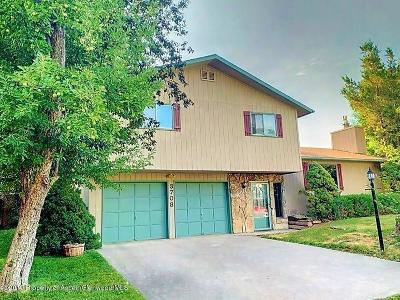 Glenwood Springs Single Family Home For Sale: 3708 Red Bluff Lane