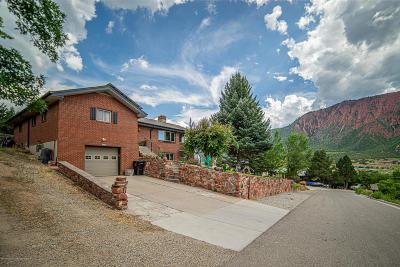 Glenwood Springs Single Family Home For Sale: 345 Vista Drive