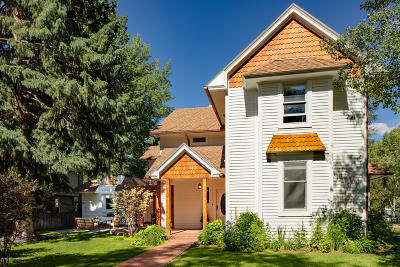 Aspen Single Family Home For Sale: 639 N Fourth Street