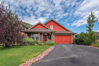 Glenwood Springs Single Family Home For Sale: 220 Red Bluff Vista