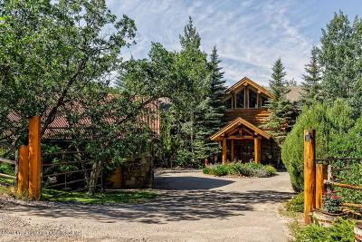 Basalt Single Family Home For Sale: 2332 W Sopris Creek Road