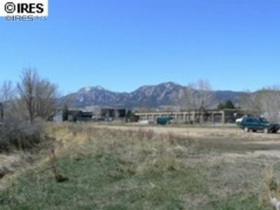 Boulder CO Residential Lots & Land For Sale: $375,000