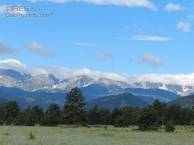 Estes Park Residential Lots & Land For Sale: 885 Elk Trail Ct