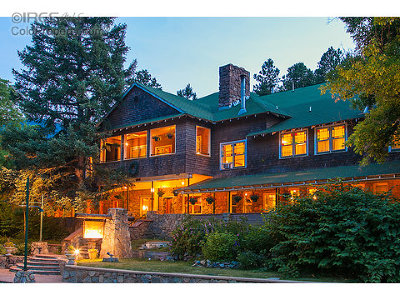 Boulder CO Single Family Home For Sale: $4,995,000