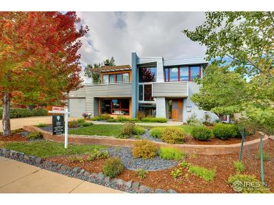 Boulder CO Single Family Home For Sale: $2,095,000