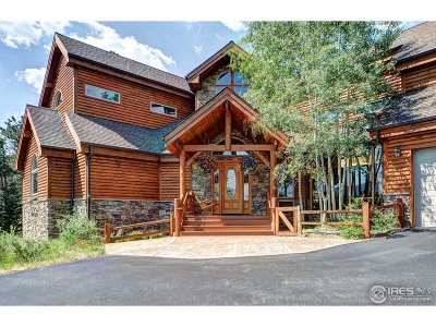 Estes Park Single Family Home For Sale: 2645 Grey Fox Dr
