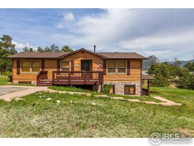 Estes Park Single Family Home For Sale: 1060 Otis Ln