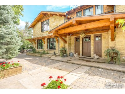 Boulder CO Single Family Home For Sale: $5,995,000