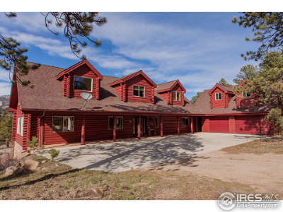 Estes Park CO Single Family Home For Sale: $669,900