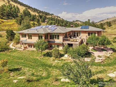 Boulder CO Single Family Home For Sale: $1,550,000