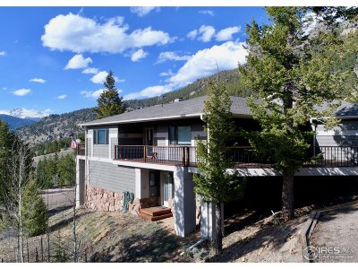 Estes Park Condo/Townhouse For Sale: 3429 Eaglecliff Cir Dr #A