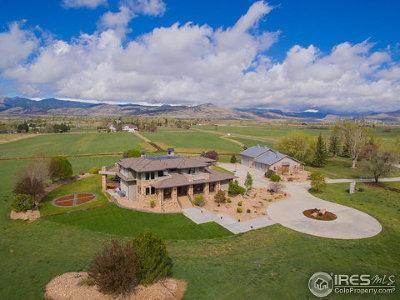 Longmont Single Family Home For Sale: 6078 Saint Vrain Rd