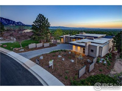 Boulder CO Single Family Home For Sale: $4,250,000