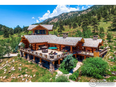 Larimer County Single Family Home For Sale: 2480 Saddle Notch Rd