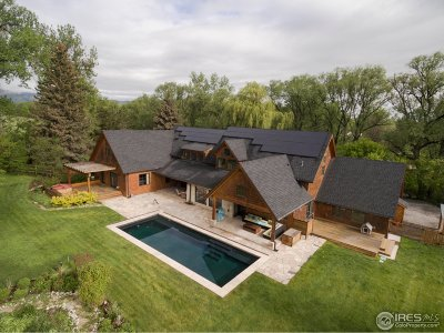 Boulder CO Single Family Home For Sale: $6,500,000