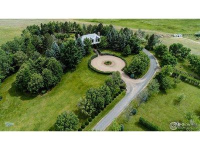 Boulder County Single Family Home For Sale: 5860 Boulder Hills Dr