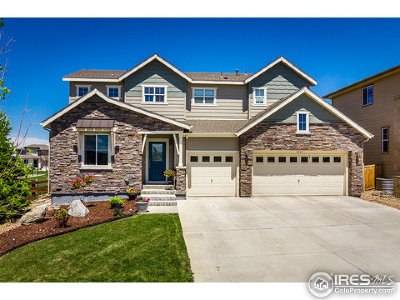 Erie Single Family Home For Sale: 1215 Single Tree Ln