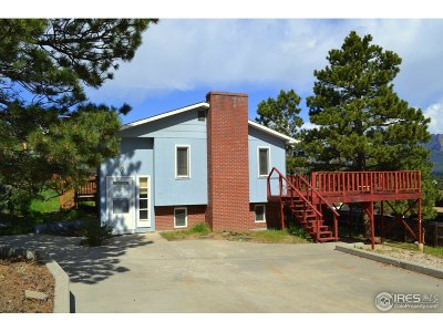 Estes Park Single Family Home For Sale: 515 Aspen Ave