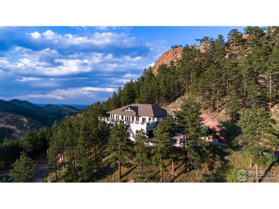 Boulder CO Single Family Home For Sale: $1,850,000