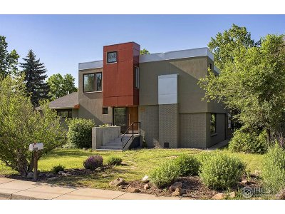 Boulder Single Family Home For Sale: 840 Grape Ave