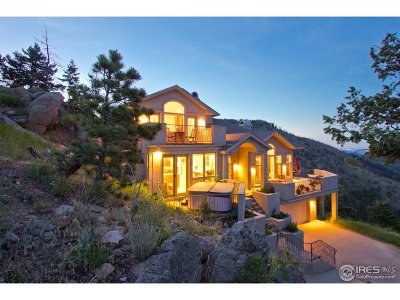 Boulder CO Single Family Home For Sale: $1,395,000