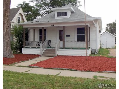 Sterling Single Family Home For Sale: 416 Chestnut St
