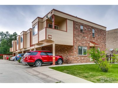 Longmont Condo/Townhouse For Sale: 911 Tulip # A