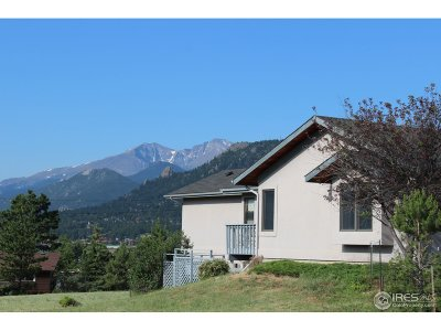 Estes Park Single Family Home For Sale: 1660 N Ridge Ln