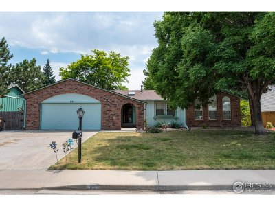 Broomfield Single Family Home For Sale: 110 Fairplay Ave