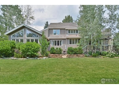 Boulder CO Single Family Home For Sale: $2,145,000