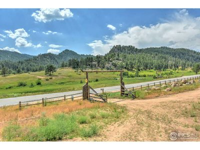 Estes Park Single Family Home For Sale: 5937 Us Highway 36