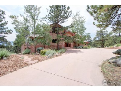 Boulder CO Single Family Home For Sale: $2,495,000