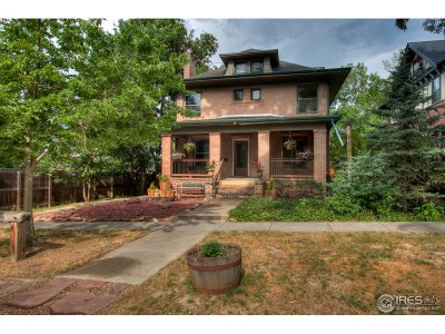 Boulder CO Single Family Home For Sale: $1,130,000